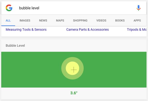 Bubble Level - Google Wasserwaage