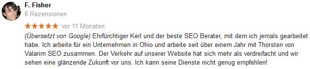 Nürnberg SEO Bewertung